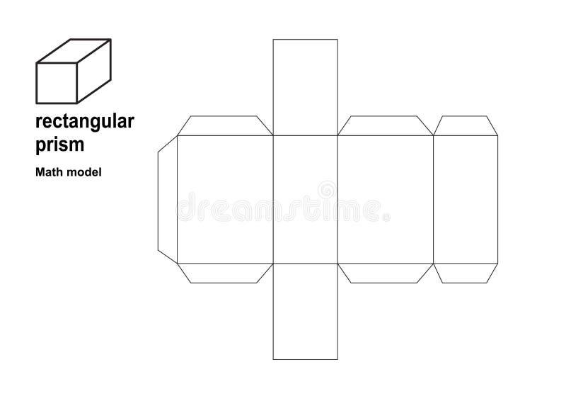 формы математик модели 3d делают по образцу печать совершенно на A4 и стандартной бумаге размера письма  Увеличить или уменьшит иллюстрация вектора