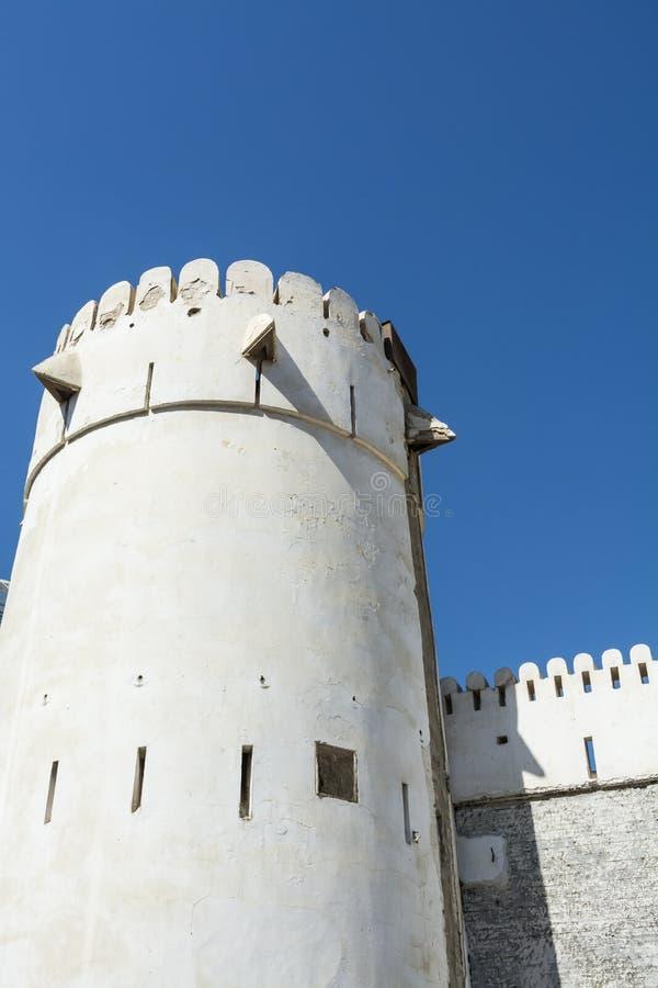 Форт Абу-Даби Hosn Al стоковая фотография