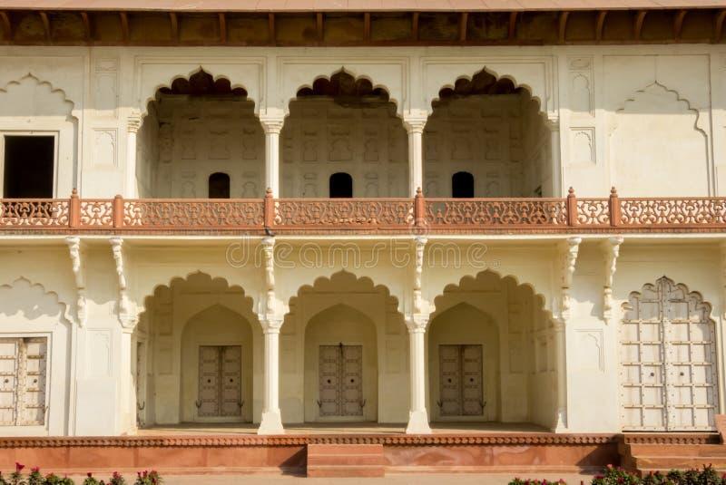 Форт Агры в Агре Индии Раджастхане стоковое фото rf