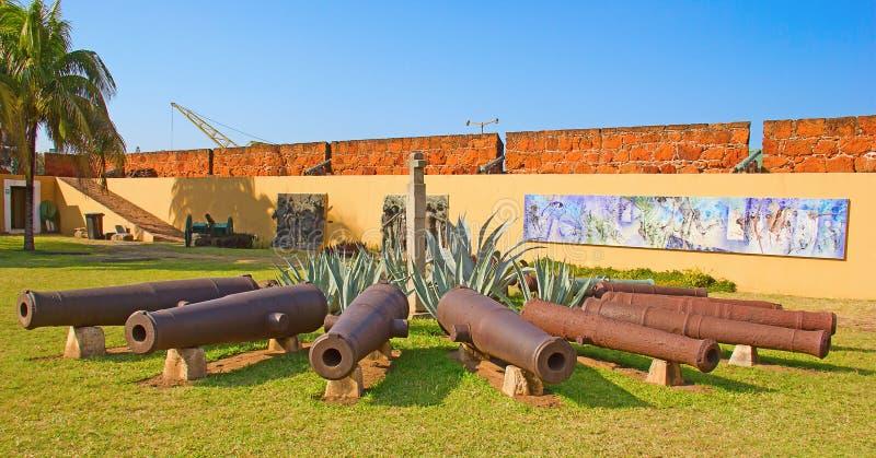 Форт в Мапуту, Мозамбик Стоковое Изображение RF