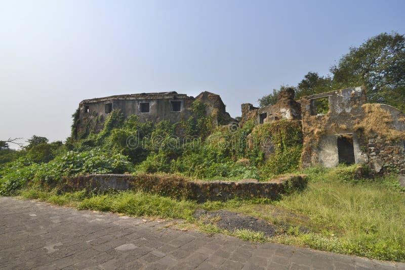 Форт в Мумбай, Индия пригорка Sion стоковое фото