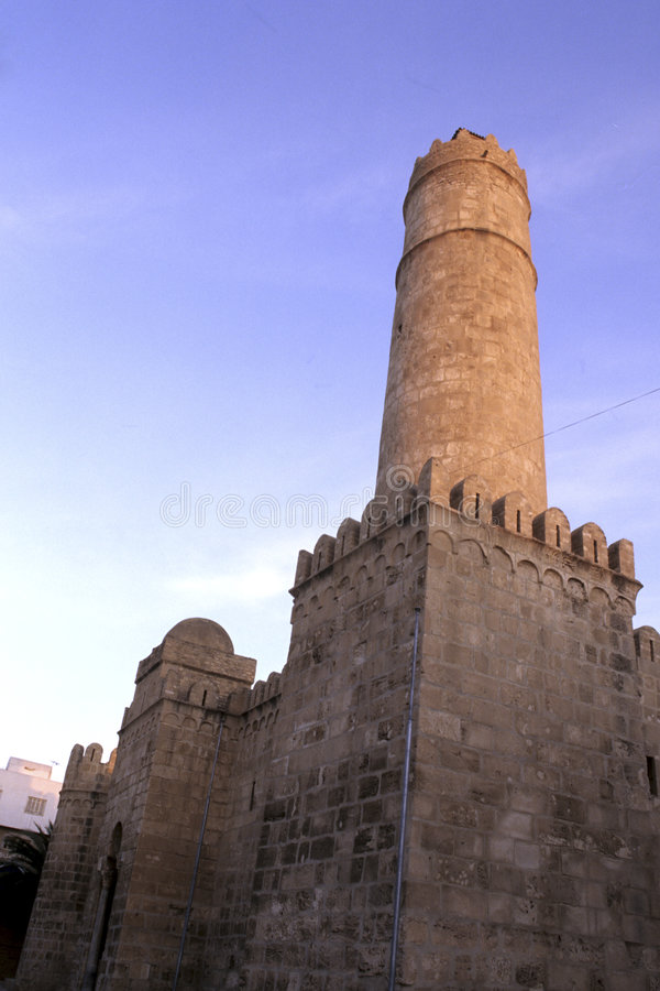 форт исламский Тунис стоковые фото