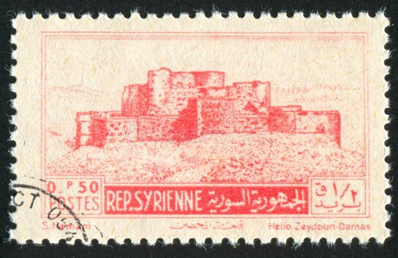 Форт крестоносцев стоковое изображение