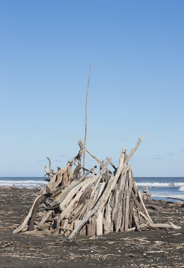 Форт древесины смещения стоковое изображение rf