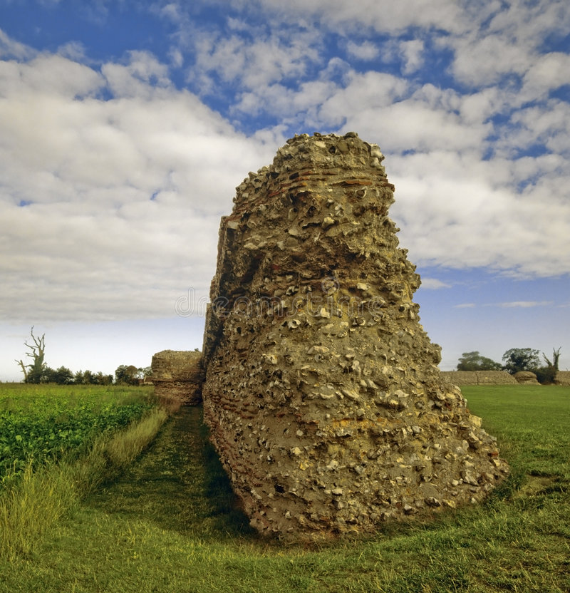 форт римский стоковая фотография