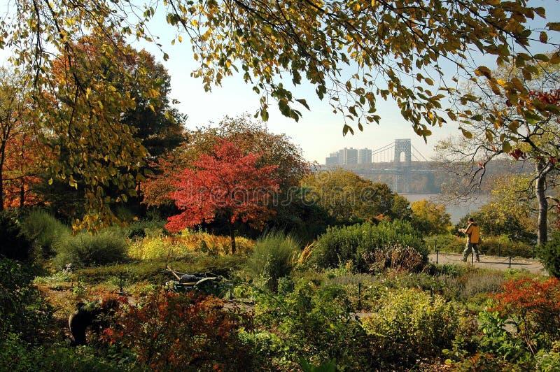 форт садовничает tryon парка nyc стоковые фото