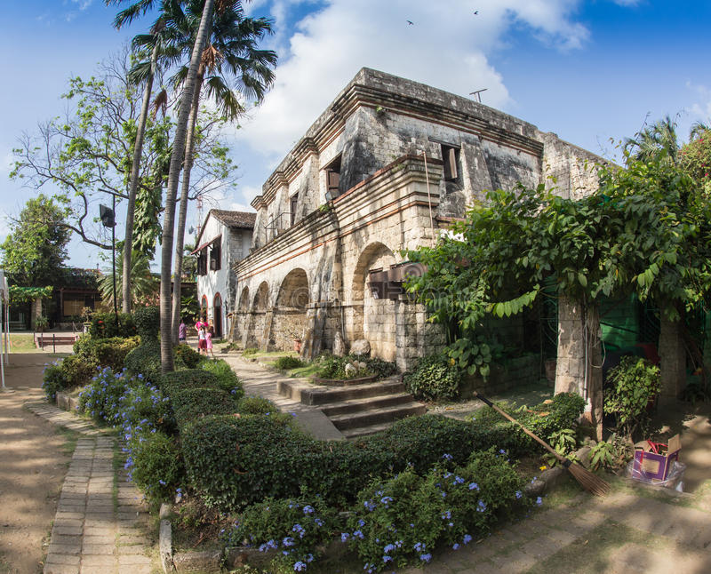 Форт Сантьяго, Intramuros район Манилы стоковые изображения rf