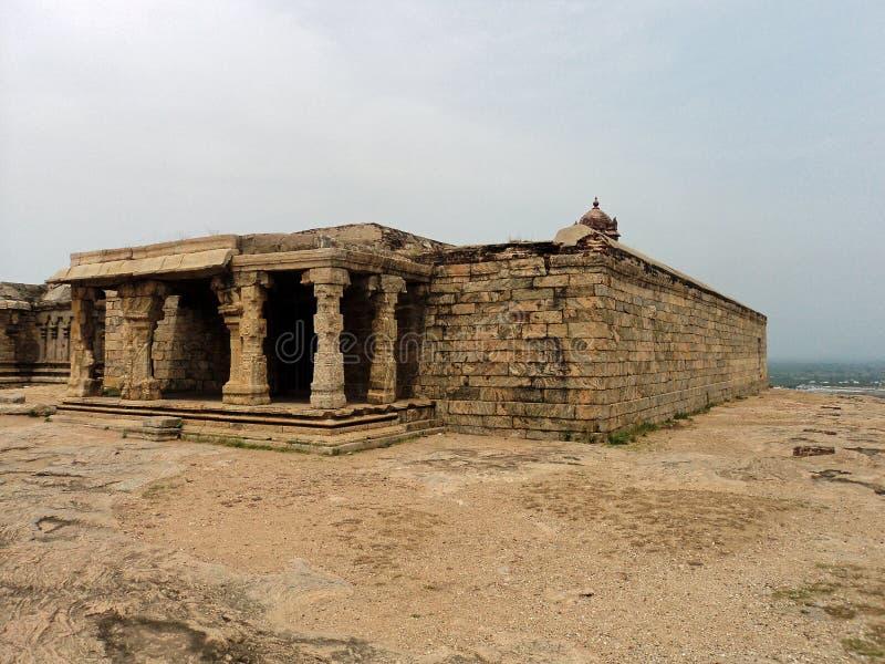 Форт утеса Dindigul стоковое изображение