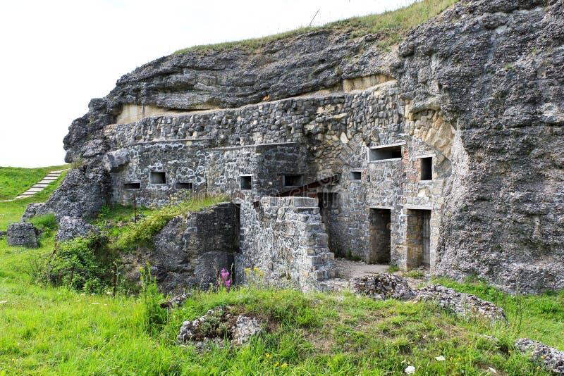 форт Франция verdun douaumont стоковое фото rf