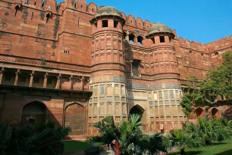 Форт Agra, Индия стоковая фотография rf
