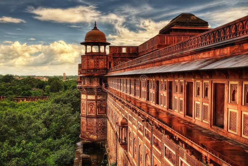 Форт Agra стоковая фотография