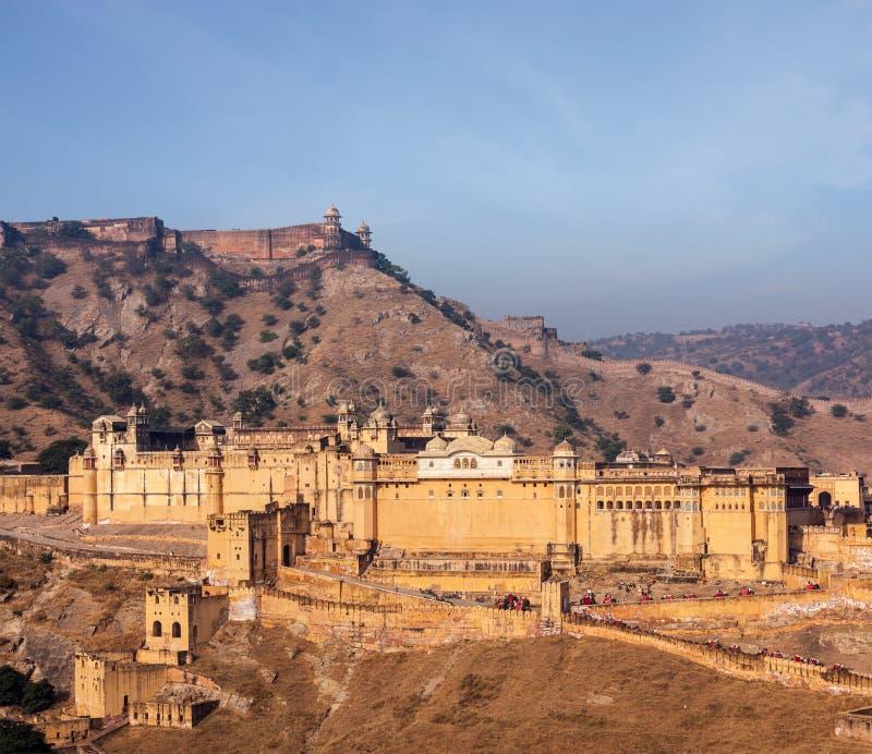 Download Форт Amer (Амбера), Раджастхан, Индия Стоковое Изображение - изображение насчитывающей турист, пейзаж: 33738073
