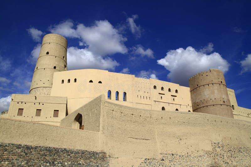 Форт Bahla стоковая фотография
