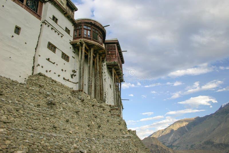 Форт Baltit, Hunza, Пакистан стоковая фотография