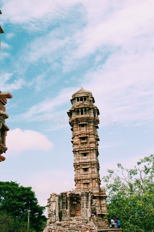 Форт Chittorgarh стоковая фотография