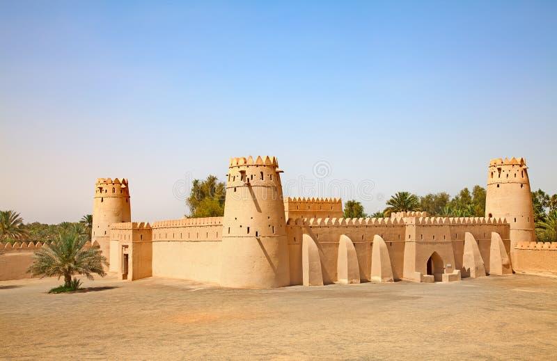 Форт Jahili стоковое изображение