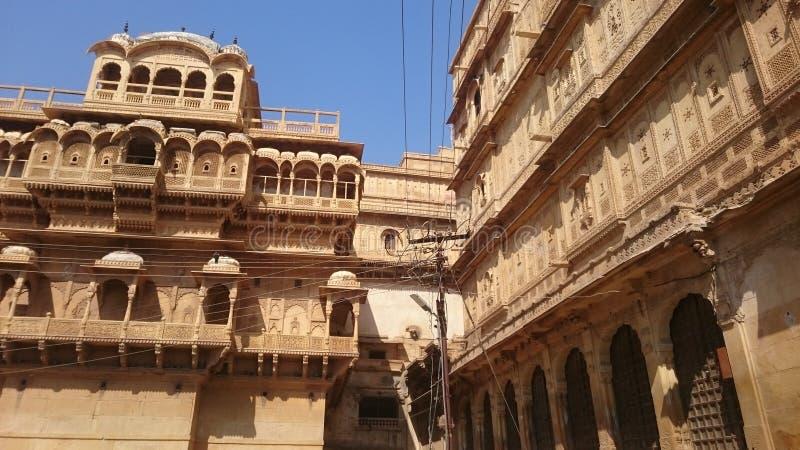 Форт Jaisalmer стоковые изображения