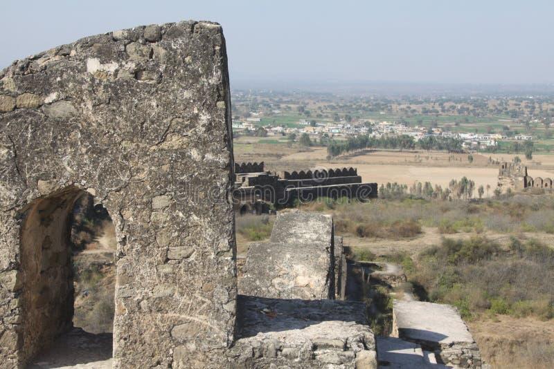 Форт Jhelum Rohtas стоковые изображения rf