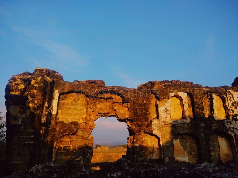 Форт Kangra стоковые изображения
