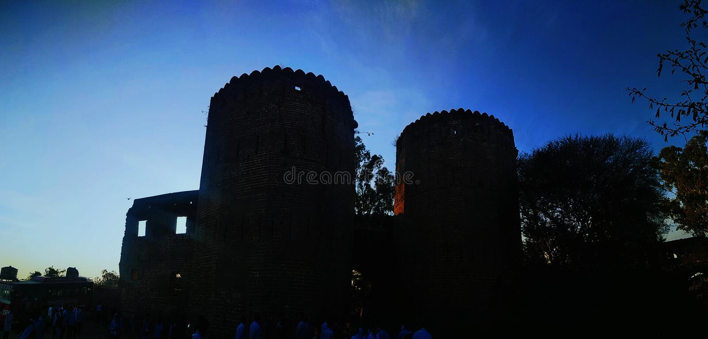 Форт Kangra стоковые фото