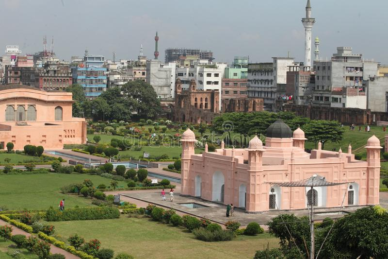 Форт Lalbagh на Дакке стоковые фото