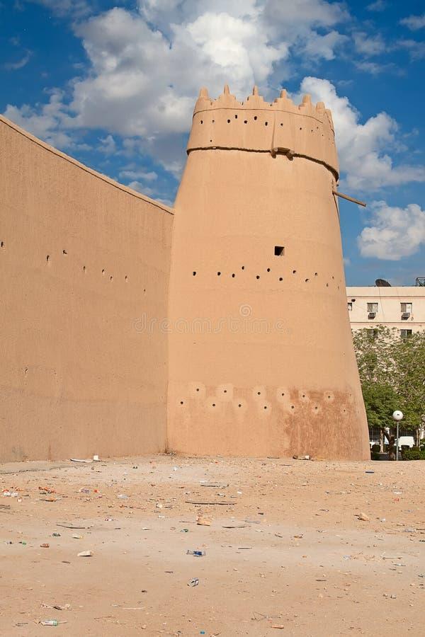 Форт Masmak Al стоковые фотографии rf