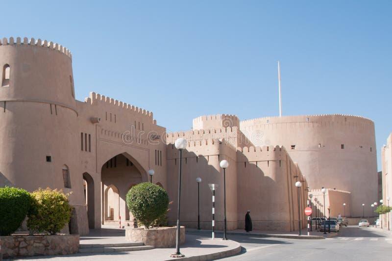 Форт Nizwa, Оман стоковые изображения rf