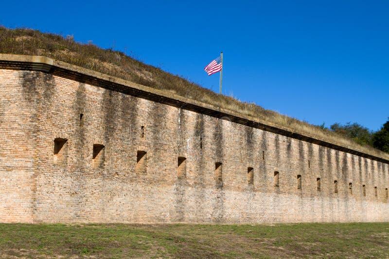 форт pensacola barrancas стоковая фотография rf