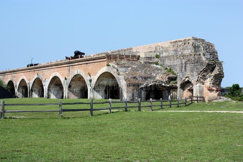 Форт Pickens стоковая фотография rf