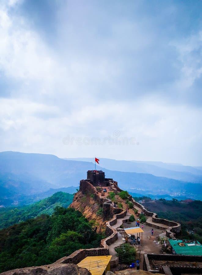 Форт Pratapgarh стоковые фото