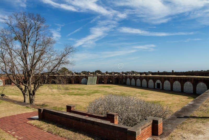 Форт Pulaski стоковые фото