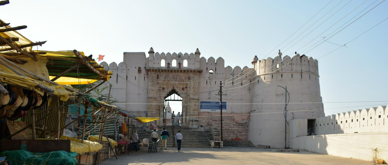 Форт Ramshej стоковые фото