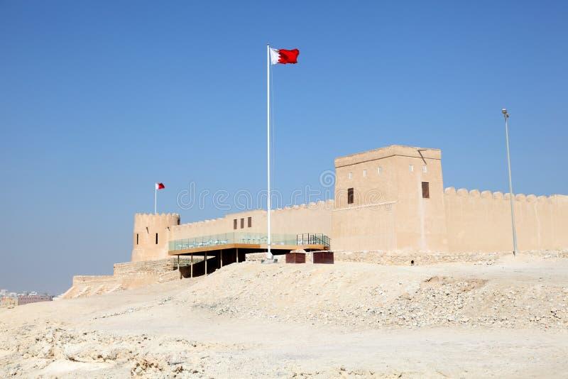 Форт Riffa в Бахрейне стоковое фото rf