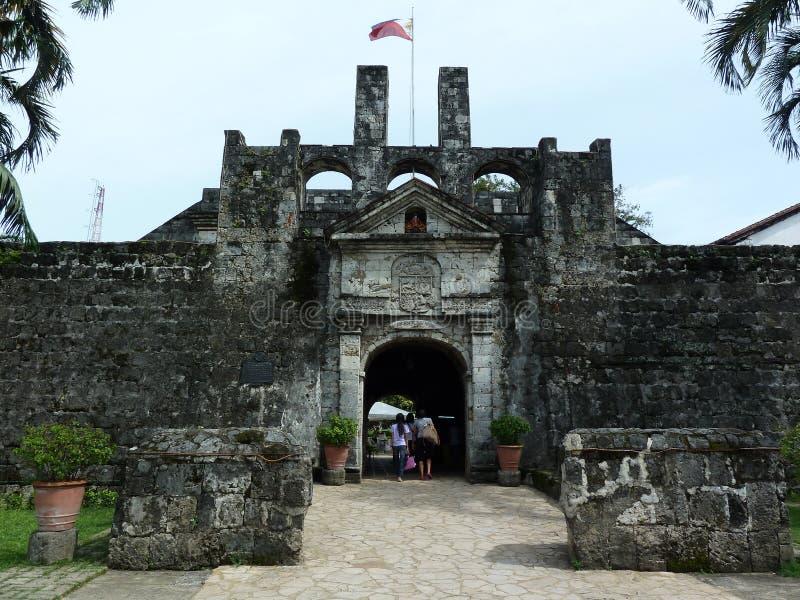 Форт San Pedro стоковое изображение rf