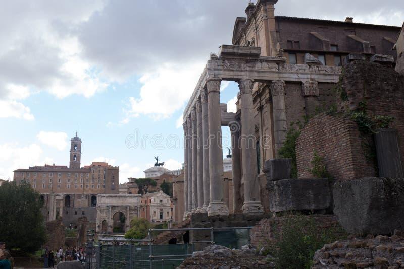 форум римский стоковые фото