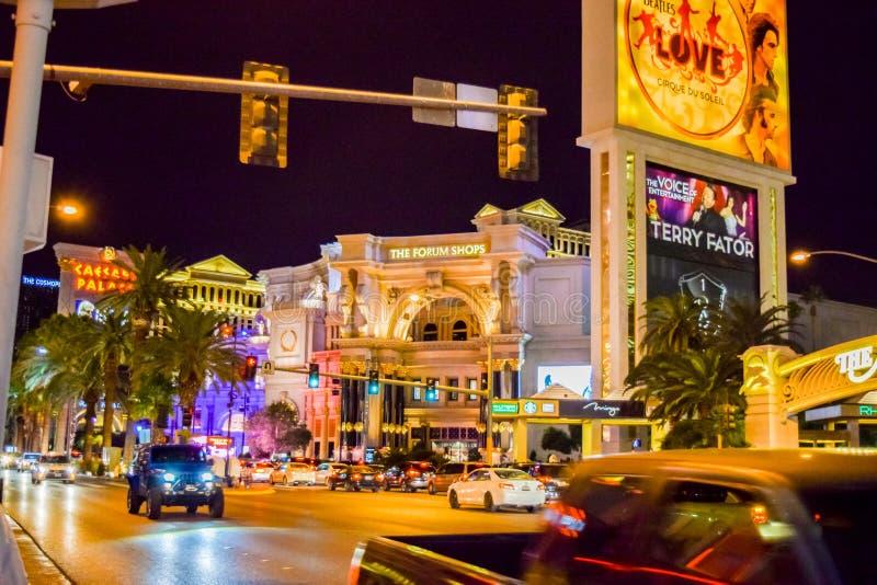 Форум ходит по магазинам в Лас-Вегас стоковое изображение rf