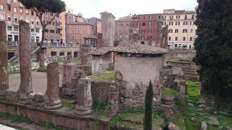 Форум Augusto в Риме стоковые фото