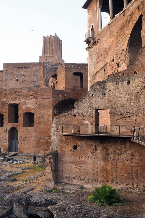 Форум Augustus в Риме, Италии стоковые фото