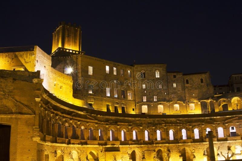 Форум Augustus (имперская структура) стоковое изображение rf