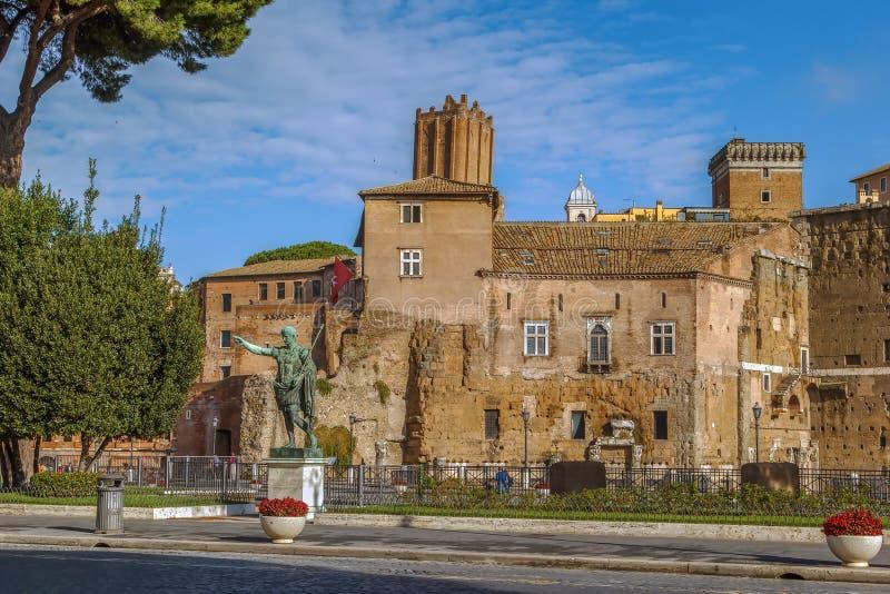 Форум Augustus, Рим стоковые изображения rf
