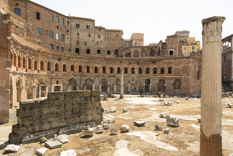 Форум Augustus стоковая фотография
