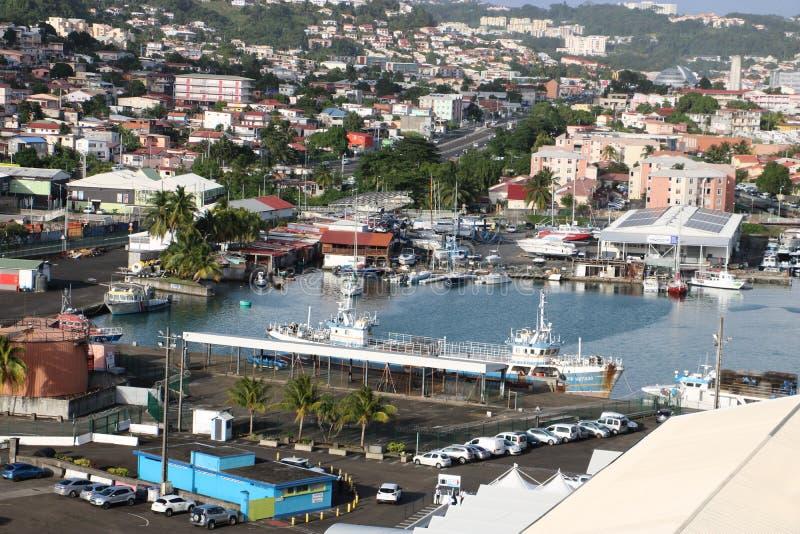 Фор-де-Франс, Мартиника стоковые фото