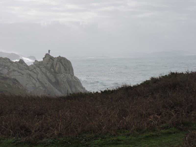Фотографировать временный от скалы стоковые изображения