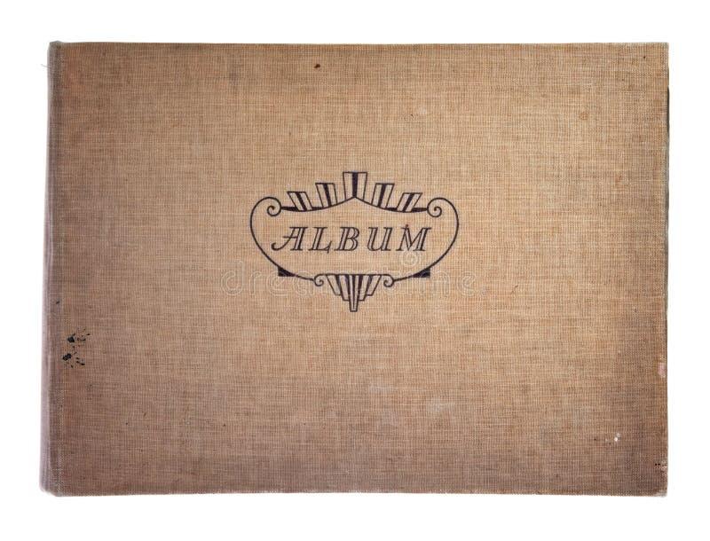 фотографическое крышки альбома старое стоковые изображения rf