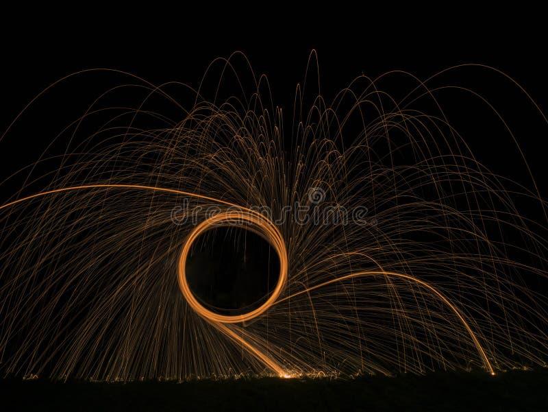 Фотография стальных шерстей стоковое фото