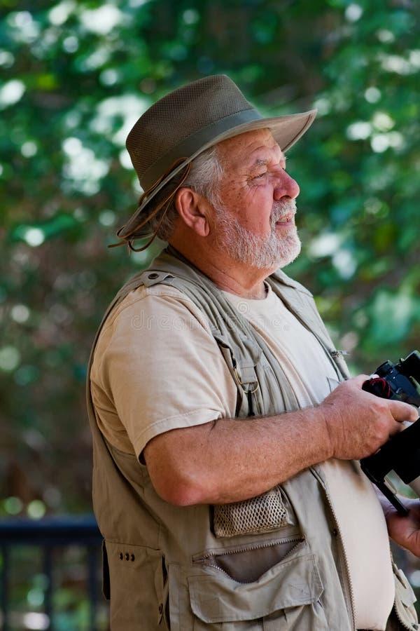 фотограф природы стоковые изображения