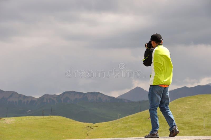 Фотограф стоковое изображение rf