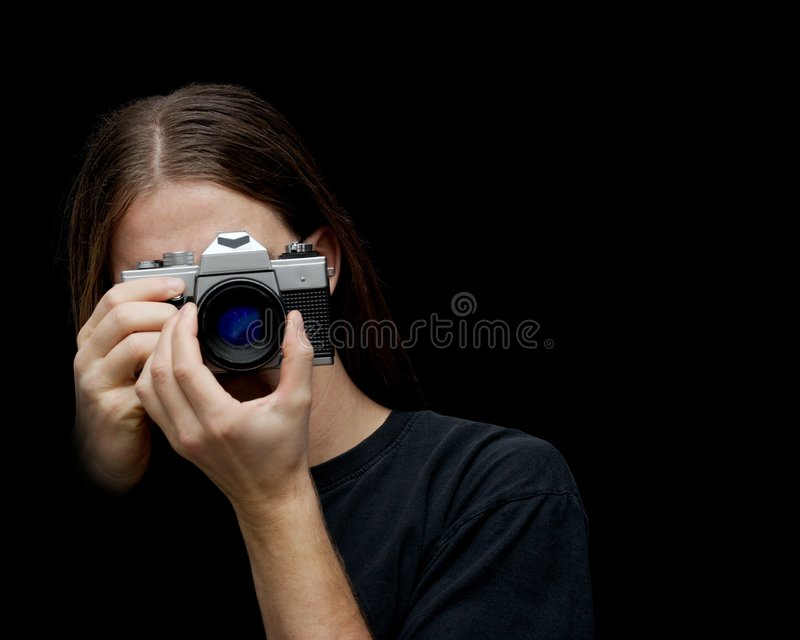 фотограф стоковая фотография rf