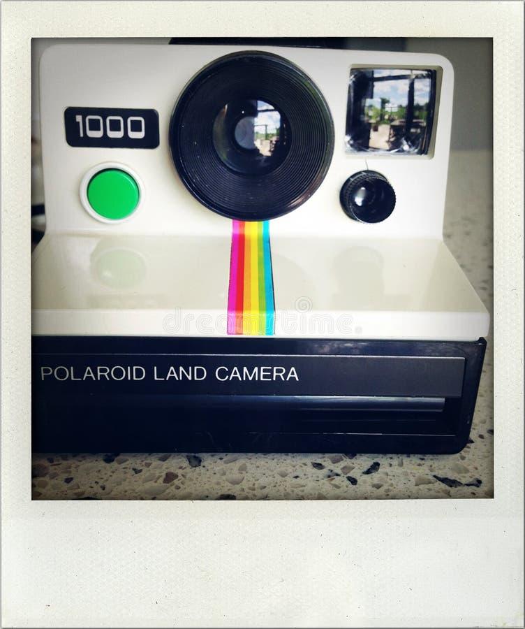 Фотокамера Поляроид. стоковое изображение rf