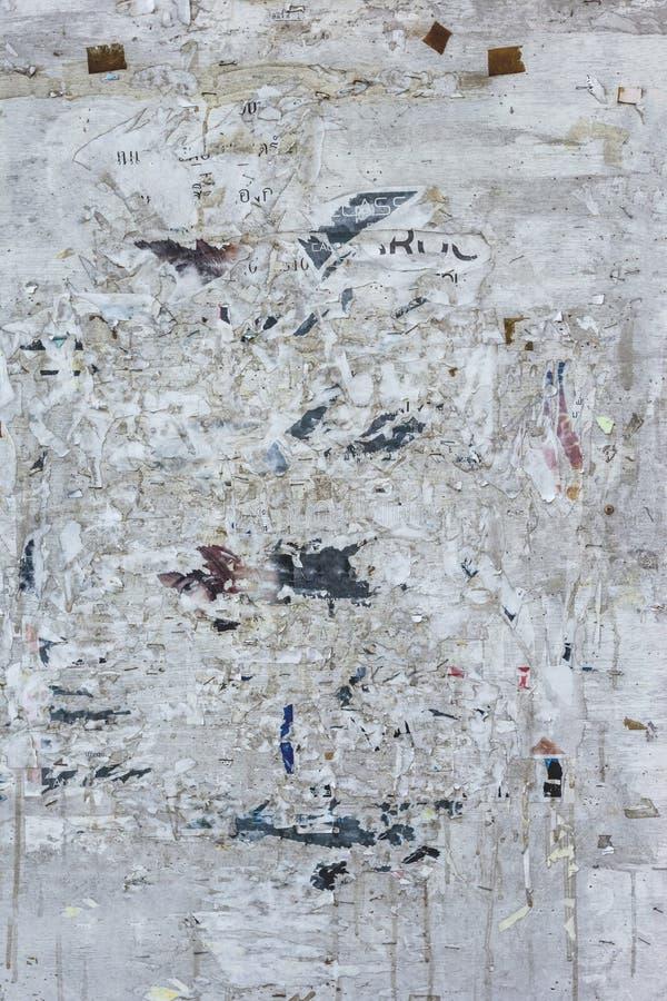 Фотоснимок городской случайной предпосылки коллажа или текстуры бумаги стоковое фото